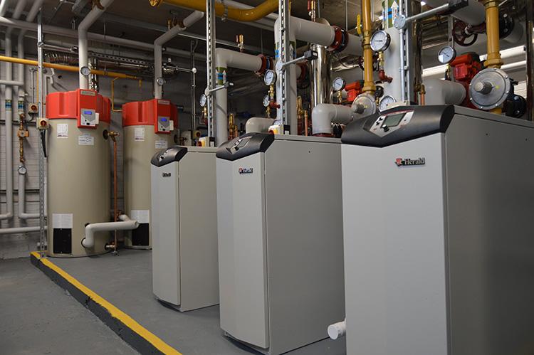 Herald boiler EcoCharger water heater